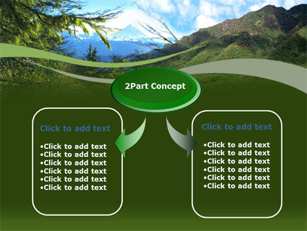 Mountain Valley PowerPoint Template Slide 4