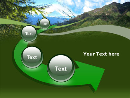 Mountain Valley PowerPoint Template Slide 6