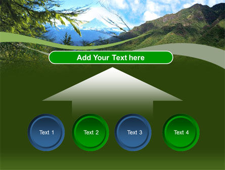 Mountain Valley PowerPoint Template Slide 8