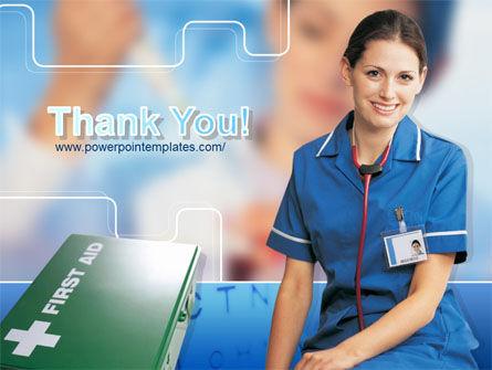 Nurse Leader PowerPoint Template Slide 20