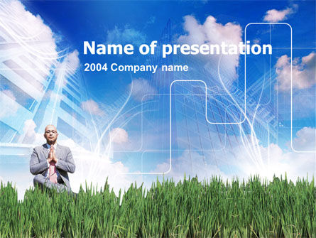 Business Growing PowerPoint Template, 00272, Business Concepts — PoweredTemplate.com