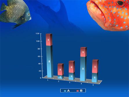 Fish In Aquarium PowerPoint Template Slide 17