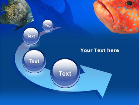 Fish In Aquarium PowerPoint Template Slide 6