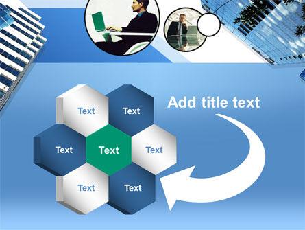 Office Skyscraper PowerPoint Template Slide 11
