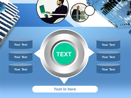 Office Skyscraper PowerPoint Template Slide 12