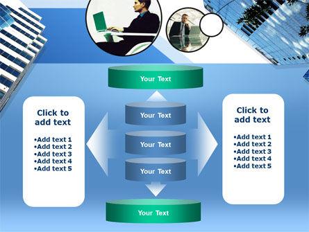 Office Skyscraper PowerPoint Template Slide 13
