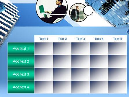 Office Skyscraper PowerPoint Template Slide 15