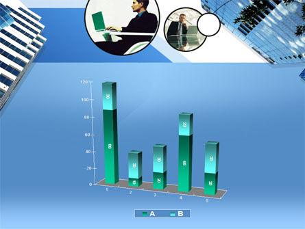 Office Skyscraper PowerPoint Template Slide 17