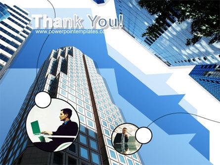Office Skyscraper PowerPoint Template Slide 20