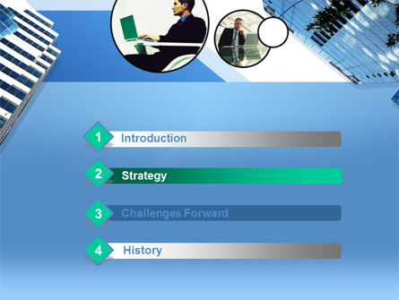 Office Skyscraper PowerPoint Template, Slide 3, 00275, Business — PoweredTemplate.com