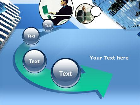 Office Skyscraper PowerPoint Template Slide 6