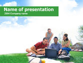 Education & Training: Students Life PowerPoint Template #00276