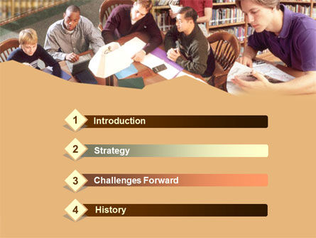 Self Study PowerPoint Template, Slide 3, 00277, Education & Training — PoweredTemplate.com