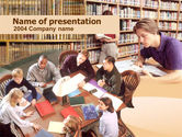 Education & Training: Self Study PowerPoint Template #00277