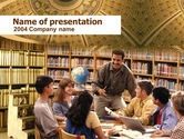Education & Training: Seminar PowerPoint Template #00278