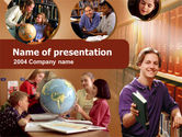 Education & Training: Library PowerPoint Template #00279