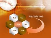 Baseball Ball PowerPoint Template#11