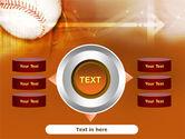 Baseball Ball PowerPoint Template#12
