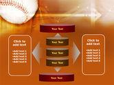 Baseball Ball PowerPoint Template#13