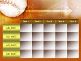 Baseball Ball PowerPoint Template#15