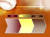 Baseball Ball PowerPoint Template#16