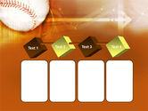 Baseball Ball PowerPoint Template#18