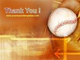 Baseball Ball PowerPoint Template#20