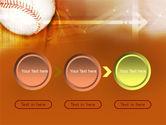 Baseball Ball PowerPoint Template#5