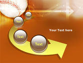 Baseball Ball PowerPoint Template#6