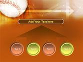 Baseball Ball PowerPoint Template#8