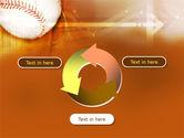 Baseball Ball PowerPoint Template#9