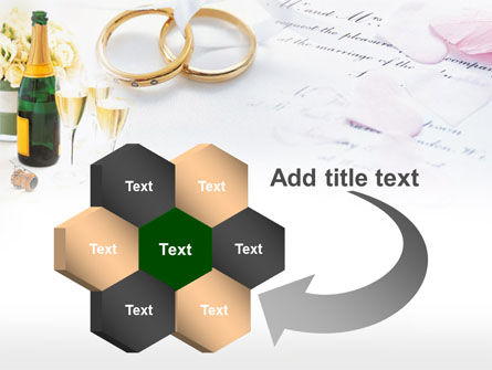 Wedding Rings And Champagne PowerPoint Template Slide 11