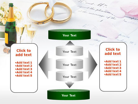 Wedding Rings And Champagne PowerPoint Template Slide 13