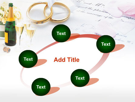 Wedding Rings And Champagne PowerPoint Template Slide 14