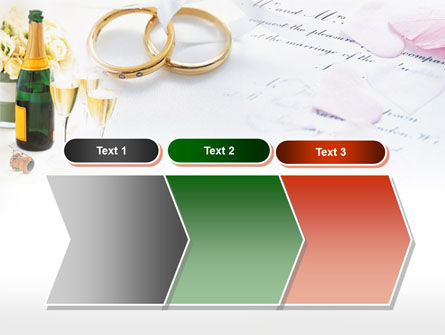 Wedding Rings And Champagne PowerPoint Template Slide 16