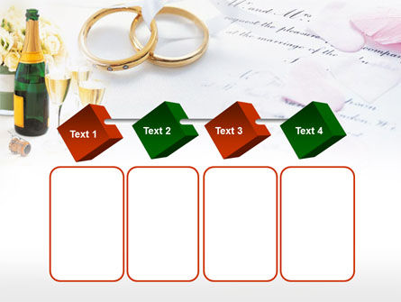 Wedding Rings And Champagne PowerPoint Template Slide 18