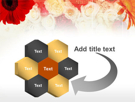 Red Flowers PowerPoint Template Slide 11