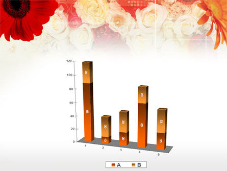 Red Flowers PowerPoint Template Slide 17