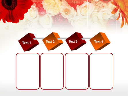 Red Flowers PowerPoint Template Slide 18