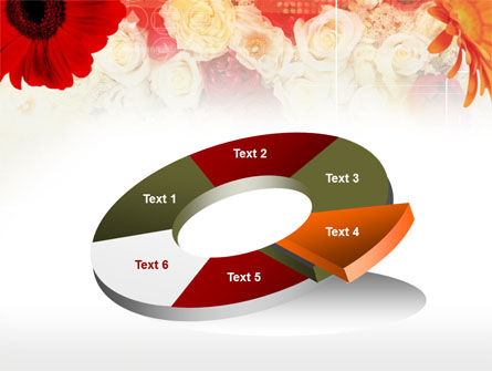 Red Flowers PowerPoint Template Slide 19