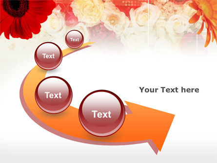 Red Flowers PowerPoint Template Slide 6