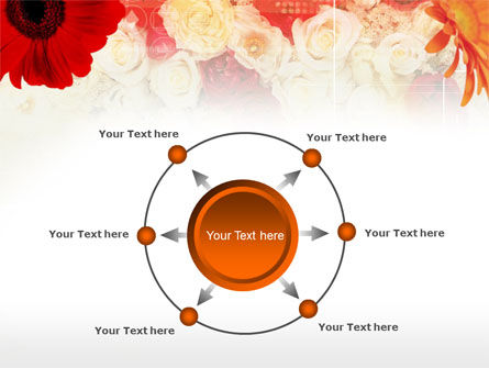 Red Flowers PowerPoint Template Slide 7