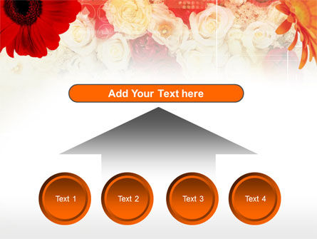 Red Flowers PowerPoint Template Slide 8