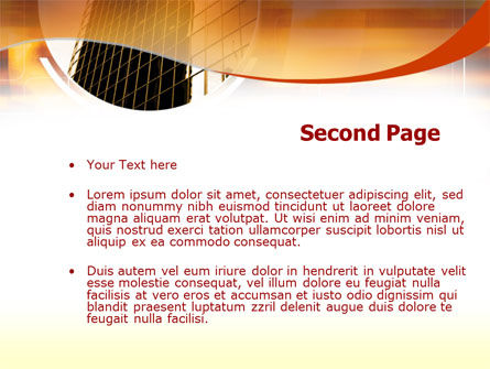 Business Center PowerPoint Template Slide 2