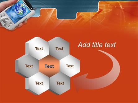 Portable Communicator PowerPoint Template Slide 11