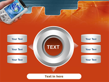 Portable Communicator PowerPoint Template Slide 12