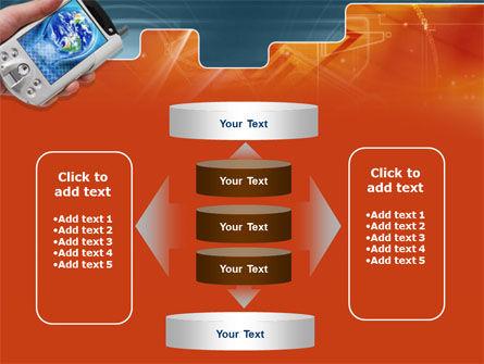 Portable Communicator PowerPoint Template Slide 13