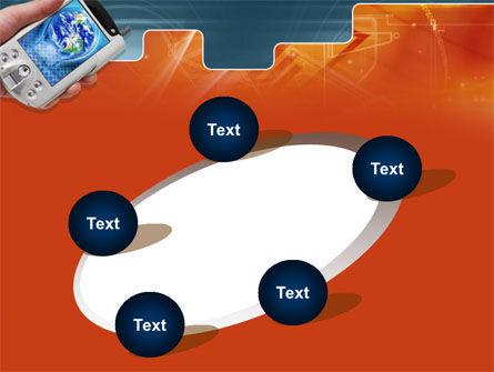 Portable Communicator PowerPoint Template Slide 14