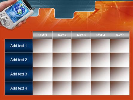 Portable Communicator PowerPoint Template Slide 15