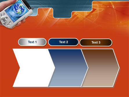 Portable Communicator PowerPoint Template Slide 16
